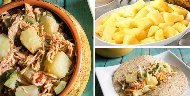 Slow Cooker Pineapple Salsa Chicken Recipe