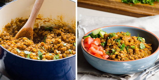 Remarkably Easy Green Lentil Curry Recipe
