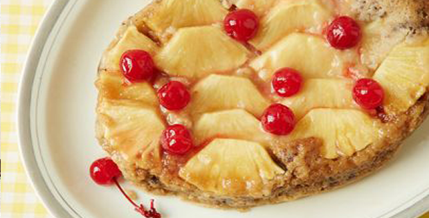A Sweet Slow Cooker Pineapple Upside-Down Cake