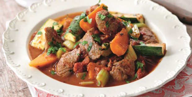 A Guilt Free Slow Cooker Lamb Navarin