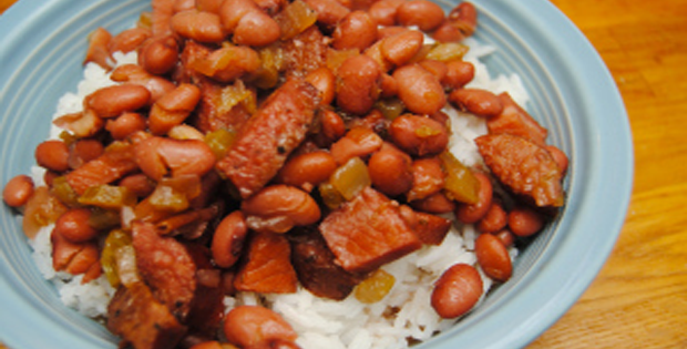 Savory Slow Cooker Red Beans and Rice