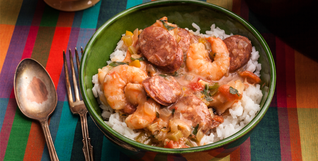 A Very Special Crock Pot Gumbo