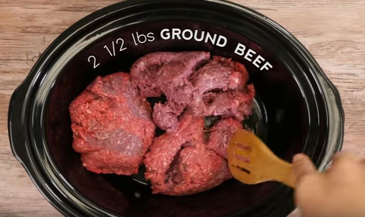 Easy slow cooker dog food video lazy oven l 005b instructions place ground beef forumfinder Gallery