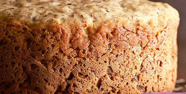 Healthy Slow Cooker Caraway-Sauerkraut Beer Bread