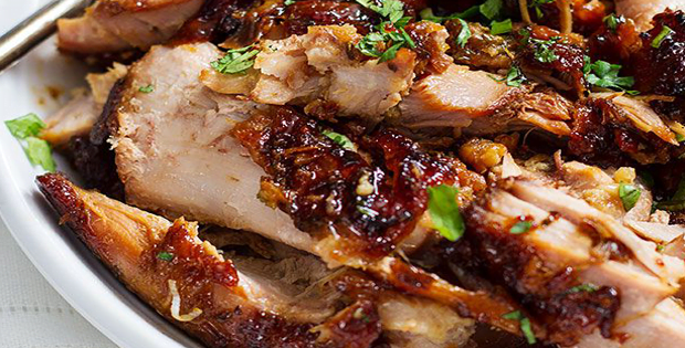 Sweet and Tangy Slow-Cooker BBQ Turkey Thighs