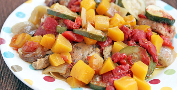 Go Tropical With A Yummy Slow Cooker Mango Chicken Dish