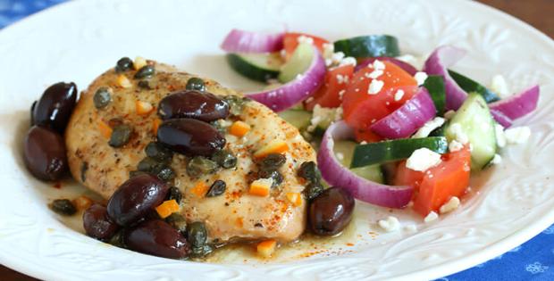 Go Mediterranean Through This Slow Cooker Greek Chicken