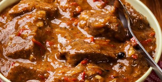 The Chunkiest and Thickest Slow Cooker Beef Stew You'll Ever Have