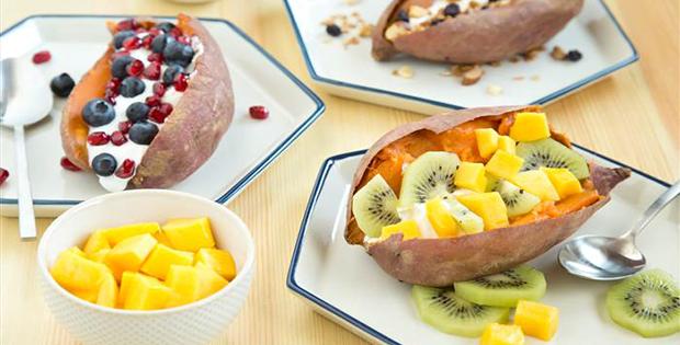 Stress-Free Slow-Cooker Breakfast Sweet Potatoes
