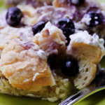 Slow Cooker Blueberry French Toast Breakfast