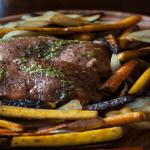 Slow Cooker Pork Roast With Sugar Free Chimichurri Sauce