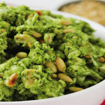 Crock Pot Pesto Chicken Salad